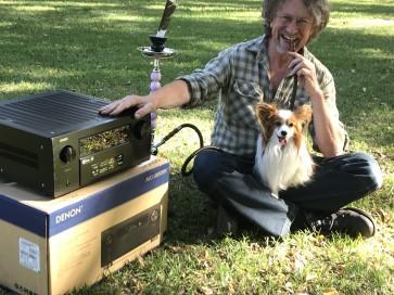 Denon AVC-X8500 thirteen channel flagship surround amplifier... a very long affair