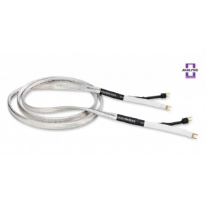 Analysis Plus Big Silver Oval 3m Speaker Cable Bananas or Spades