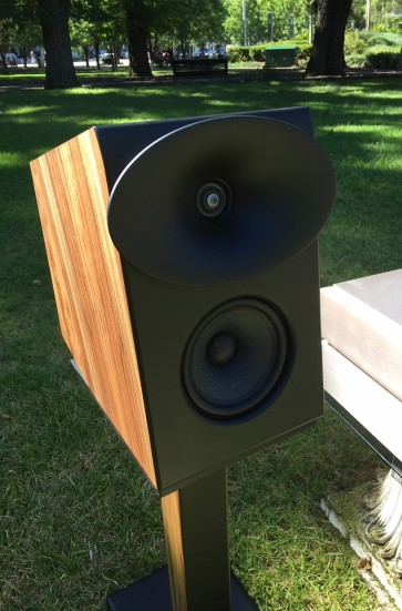 Krix Esoterix Altum new concept high end bookshelf speakers