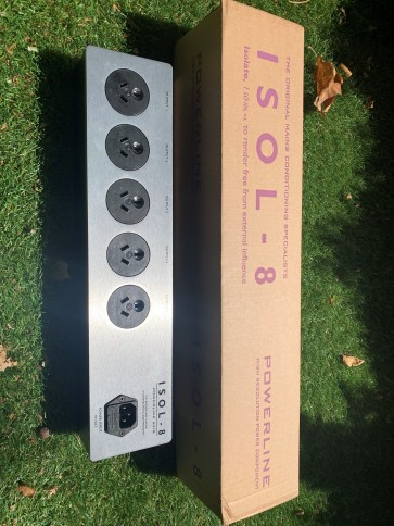 Isol-8 Powerline Axis (5 way DC Blocking Power board) Made in the UK