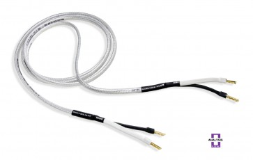 Analysis Plus Silver Oval Two Speaker Cable 3m Pair Bananas or Spades
