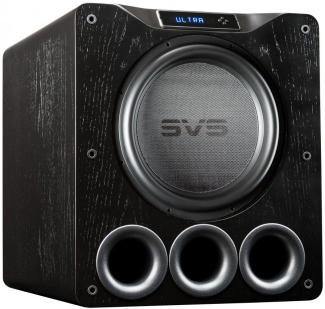 SVS PB16-Ultra - Ported Box Home Subwoofer (Available in Black Ash or Gloss  Black)