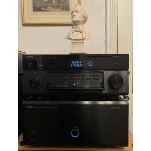 Yamaha CXA5200 preamplifier and MXA5200 power theatre amplifier ... home cinema separates ... one only