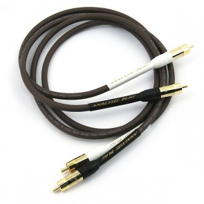 Analysis Plus Chocolate Oval 1m RCA or XLR