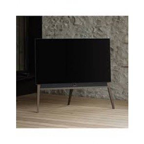 Loewe Bild 5 65 inch OLED with Wooden Stand - Silver Oak