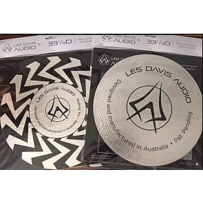 Les Davis Audio 33 1/3D turntable Slip Mat