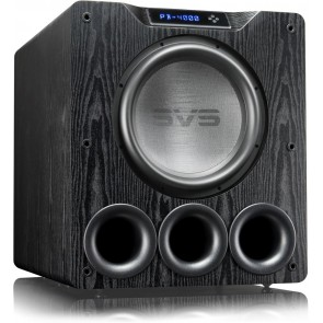 SVS PB-4000 - Ported Box Home Subwoofer (Available in Black Ash or Gloss Black)