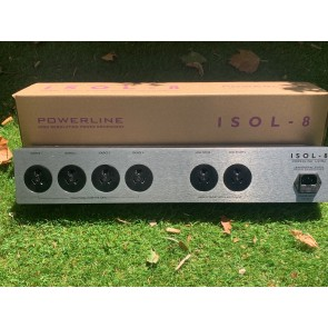 Isol-8 Powerline Ultra (6 way Tranamodal Filter) Made in the UK