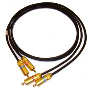 Van Den Hul D501 Silver Hybrid 1m RCA Cable