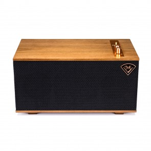 Klipsch The Three..........Luxury stereo tabletop system with phono and pretty copper buttons