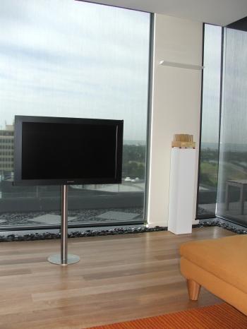 TV on a stick