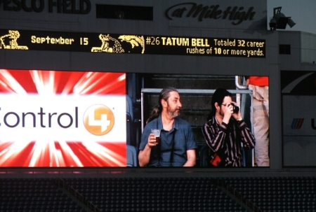 Paul and Troy on the Big Screen
