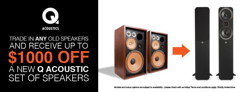 q acoustics promo